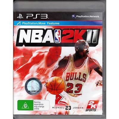 AU13 • Buy Playstation 3 Nba 2k11 Ps3 Australian Seller & Release Dual Shock 3 [ln]