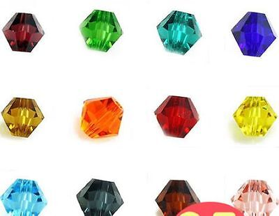 $ CDN1.84 • Buy HOT !  Glass Crystal #Bicone Spacer Beads  4mm,6mm,8mm