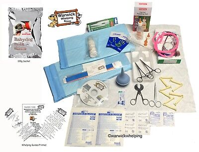 £29.99 • Buy Select Puppy Whelping Kit Delivery Pack Aspirator & Royal Canin Milk & Guide