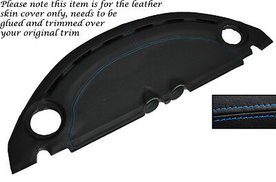 $ CDN327.16 • Buy Blue Stitch Dash Leather Skin Cover Fits Lotus Elise Exige S2 2007-2012
