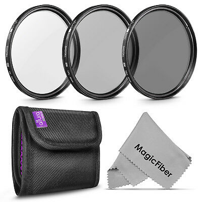 £13.69 • Buy 52MM Photography Filter Kit UV, Polarizer CPL, ND4 For Nikon By Altura Photo
