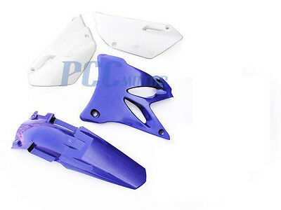 AU69.45 • Buy New Blue Yamaha Yz85 Yz 85 Plastic Fenders Kit 2002-2014 M Ps69