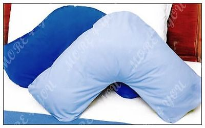 AU12.50 • Buy Over 10 Colors - V Shaped / Tri / Boomerang Standard Pillowcase Polyester Cotton