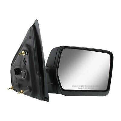 $39.36 • Buy Power Mirror For 2004-2008 Ford F-150 Right Textured Black Manual Folding