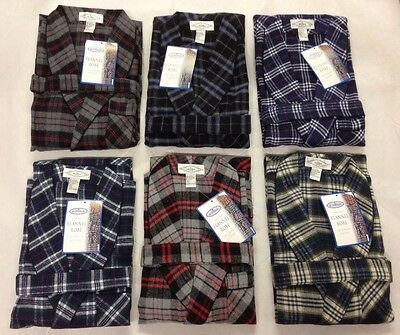 $30.99 • Buy New Acura Men's FLANNEL ROBE, Multi Color's,Size S-M-L-XL-2X-3X!GREAT FOR A GIFT