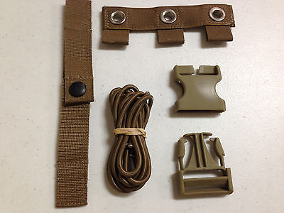 $4.39 • Buy Usmc Coyote Repair Kit For Modular Tactical Vest Mtv Scalable Plate Carrier Nip