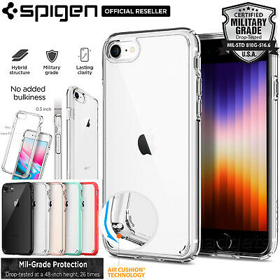 AU17.99 • Buy IPhone 8 7 6s Plus SE 2020 Case Genuine SPIGEN Ultra Hybrid Hard Cover For Apple