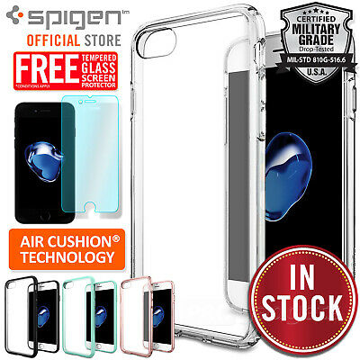 AU15.99 • Buy IPhone 8 7 6s Plus SE 2020 Case Genuine SPIGEN Ultra Hybrid Hard Cover For Apple