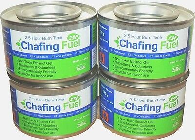 £6.25 • Buy 2x Chafing Fuel Smokeless Odourless Non Toxic 2.5 Hours Each