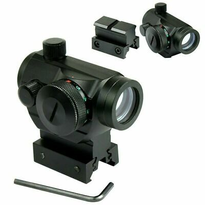 $25.99 • Buy Tactical Holographic Green / Red Dot Sight Scope With Rail Mount & 1  Rail Riser