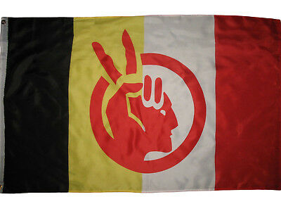 $8.44 • Buy American Indian Movement Flag Native American Rights Protest 3x5 Ft Banner AIM