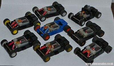 £6.95 • Buy Micro Scalextric Fully Serviced Replacement Chassis Track Tested Ready To Run