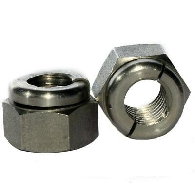 M2.5 - M12 Stainless Steel Aerotight All Metal Locking Nuts Exhaust Manifolds • 3.50£