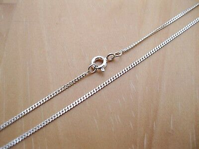 925 Sterling Silver - 1mm Diamond Cut Curb Chains - Various Sizes Available • 4.99£