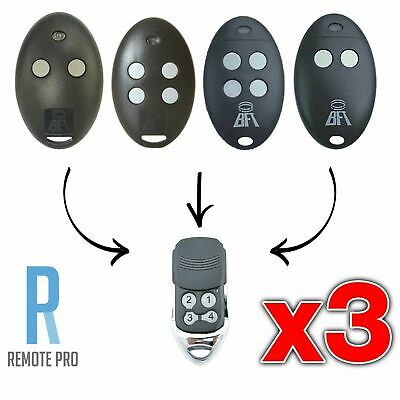AU34.30 • Buy 3 X To Suit BFT Mitto 2M 4M 12V Compatible Garage/Gate Remote D111751 D111750