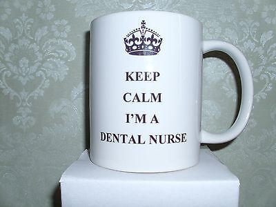 Keep Calm I'm A Dental Nurse Mug Cup Gift Present Idea • 7.99£