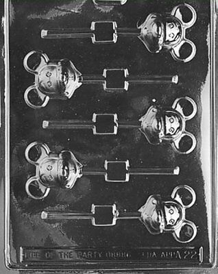 $5.99 • Buy Mouse Lollipop (Mickey) Chocolate Mold - A022