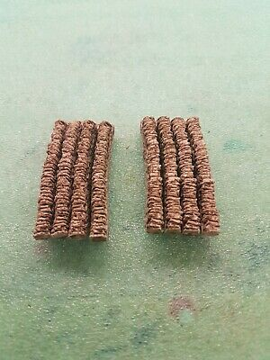 £4.99 • Buy 8 Curve Stone Walling 00 Gauge Scenery Brand And New Boxed.