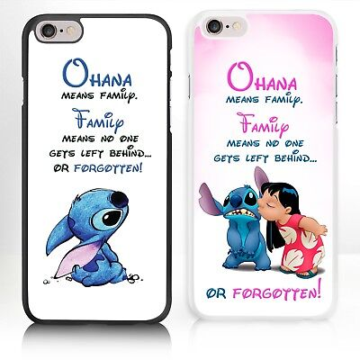 £6.95 • Buy Disney Lilo And Stitch IPhone Case Cover For Phone Range 4 4s 5 5s 5c 6 6s 7 8