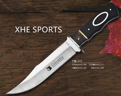 AU20.99 • Buy JL A15 Full Tang Survival Military Bowie Camping Hunting Tactical Knife Au