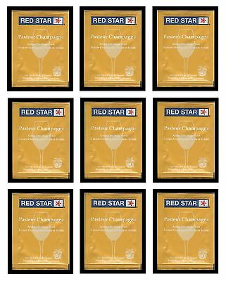 £6.56 • Buy Wine Yeast 10 Pack Rs Champ Pasteur Blanc For  Champagne Cider Soda Moonshiners