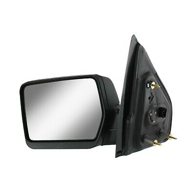 $39.36 • Buy Power Mirror For 2004-2008 Ford F-150 Driver Side Textured Black Manual Folding