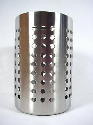 AU14.62 • Buy Large Kitchen Utensil Caddy IKEA ORDNING Stainless Steel Cooking Tools Holder