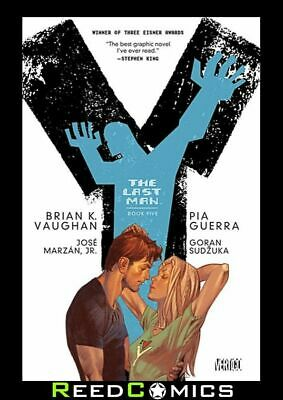 AU38.01 • Buy Y THE LAST MAN VOLUME 5 DELUXE HARDCOVER New Hardback Collects Issues #49-60