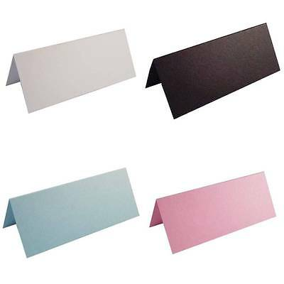£3.80 • Buy Table Name Place Cards, Weddings, Parties. Settings,Choose Quantity & Colour.