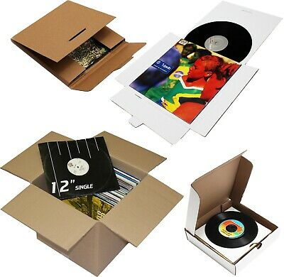 £7.80 • Buy Strong 12  7  Lp Single Record Vinyl Mailers Boxes Shipping Storage Packaging