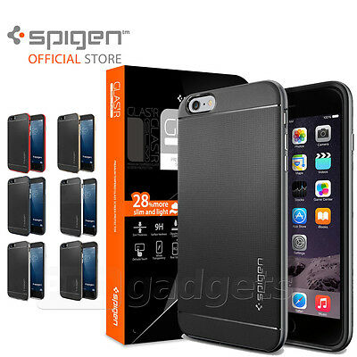 AU52.99 • Buy SPIGEN Neo Hybrid Unpackaged+ GLAS.tR SLIM For IPhone 6S Plus / 6 Plus Case