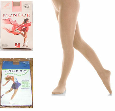 New Mondor 3371  Thick Footed Ice Skating Tights - Child & Adult Sizes • 13£