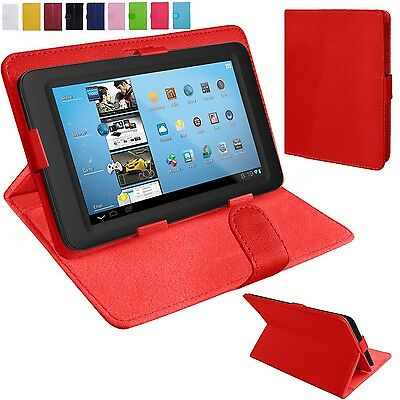 £5.99 • Buy Universal Leather Stand Folding Folio Case Cover Pouch For 9 10 Inch Tablets Tab