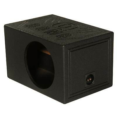 $ CDN94.68 • Buy QPower QBOMB10VL Single 10  Vented Ported Car Subwoofer Sub Box Enclosure QBOMB