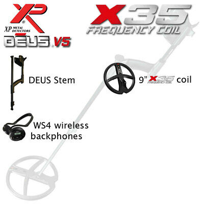 XP DEUS 9  X35 Coil And WS4 Backphones • 769£