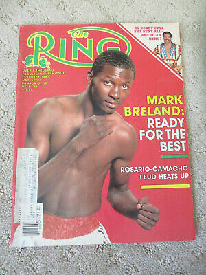 $4.99 • Buy February 1987 Ring Magazine Mark Breland Cover #2