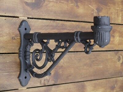 Traditional Victorian Lamp Wall Bracket Garden Street Light Lantern 3326 • 64.99£