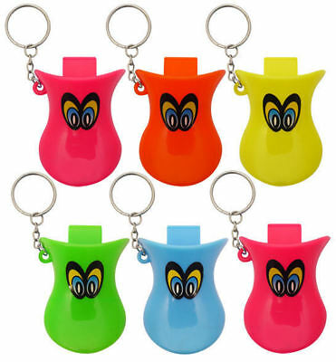 6 Duck Whistle Keyrings - Pinata Toy Loot/Party Bag Fillers Key Chain Kids • 2.89£