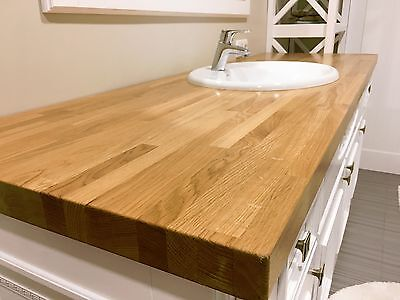 Sale Oak 2m 3m 4m  Solid Wood Kitchen Worktops. Cheapest Oak Worktops On Ebay • 150£
