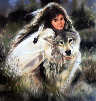 $28.95 • Buy Maija  Squeeze Play  Wolf Poster  23  X 24