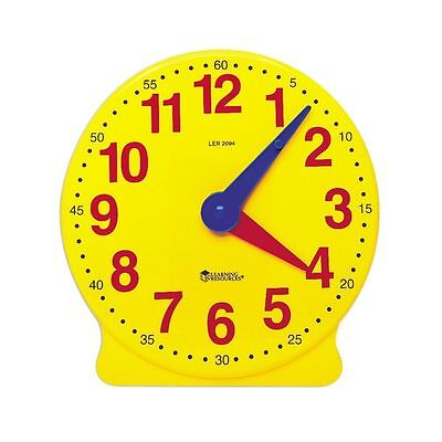 £5.99 • Buy Geared Teaching Aid Time Learning Educational Clock Learn To Tell The Time