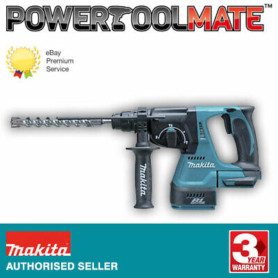 Makita DHR242Z 18V LXT Li-ion Brushless Rotary Hammer SDS+ Drill Body Only • 148.99£