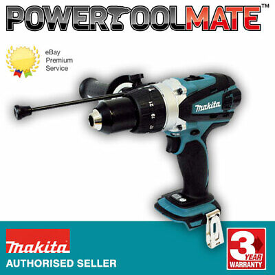 Makita DHP458Z 18V LXT 2 Speed Combi Drill Naked Body Only Ex BHP458Z • 93.99£