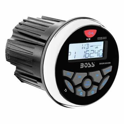 $89.99 • Buy Boss Audio MGR350B 3  Gauge Hole Marine Bluetooth MP3 Stereo Radio Boat Receiver