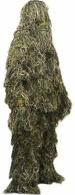 XL/XXL Woodland Camo/Camouflage Ghillie Suit Hunting Equipment • 39.99£