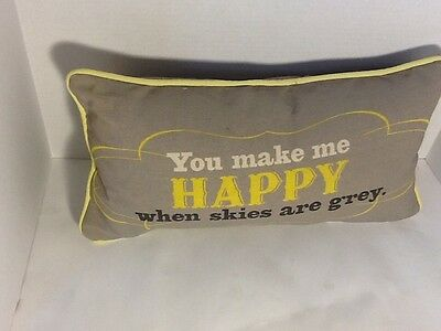 You Are My Sunshine Tapestry Throw Pillow Word Afghan • 14.81£