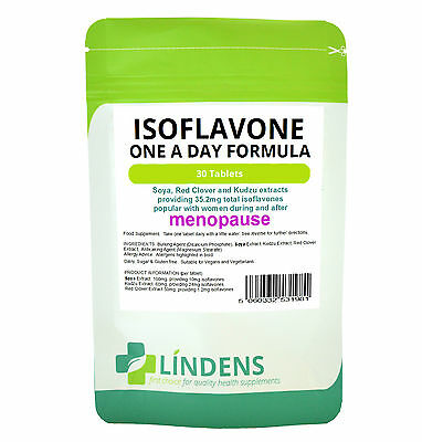 Soya Isoflavone Red Clover 2-PACK 60 Tablets Isoflavones Kudzu Extract Natural • 10.99£