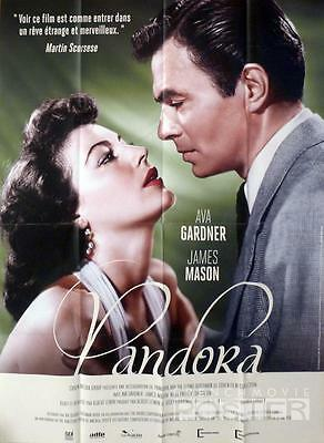 Pandora - Ava Gardner / James Mason - Reissue Large French Movie Poster • 28.94£