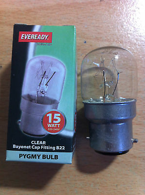 BC SES SBC 15w 25w Clear Pygmy Bulb  Packs Of 2, 5, Or 10 New • 3.29£