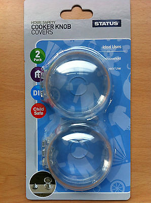£5 • Buy 2pc Cooker Knob Cover Baby Toddler Home Safety Products Great Value!